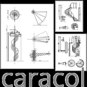 Escada Helicoidal Exemplos De Projetos Detalhes Do Bloco Dwg
