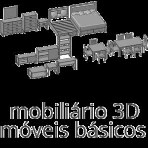 blocos de moveis autocad 3d